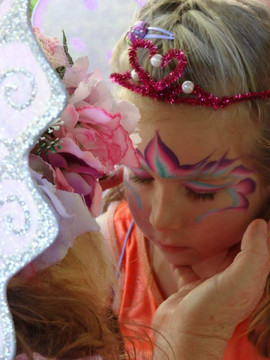 fairy princess face paint