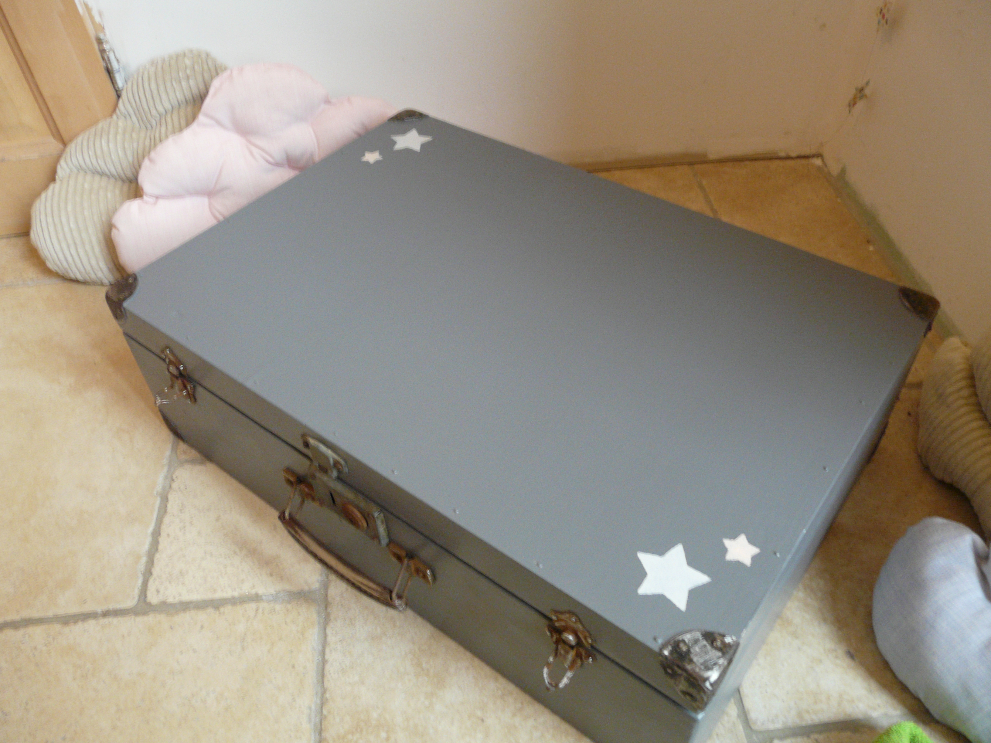 valise en bois, rangement