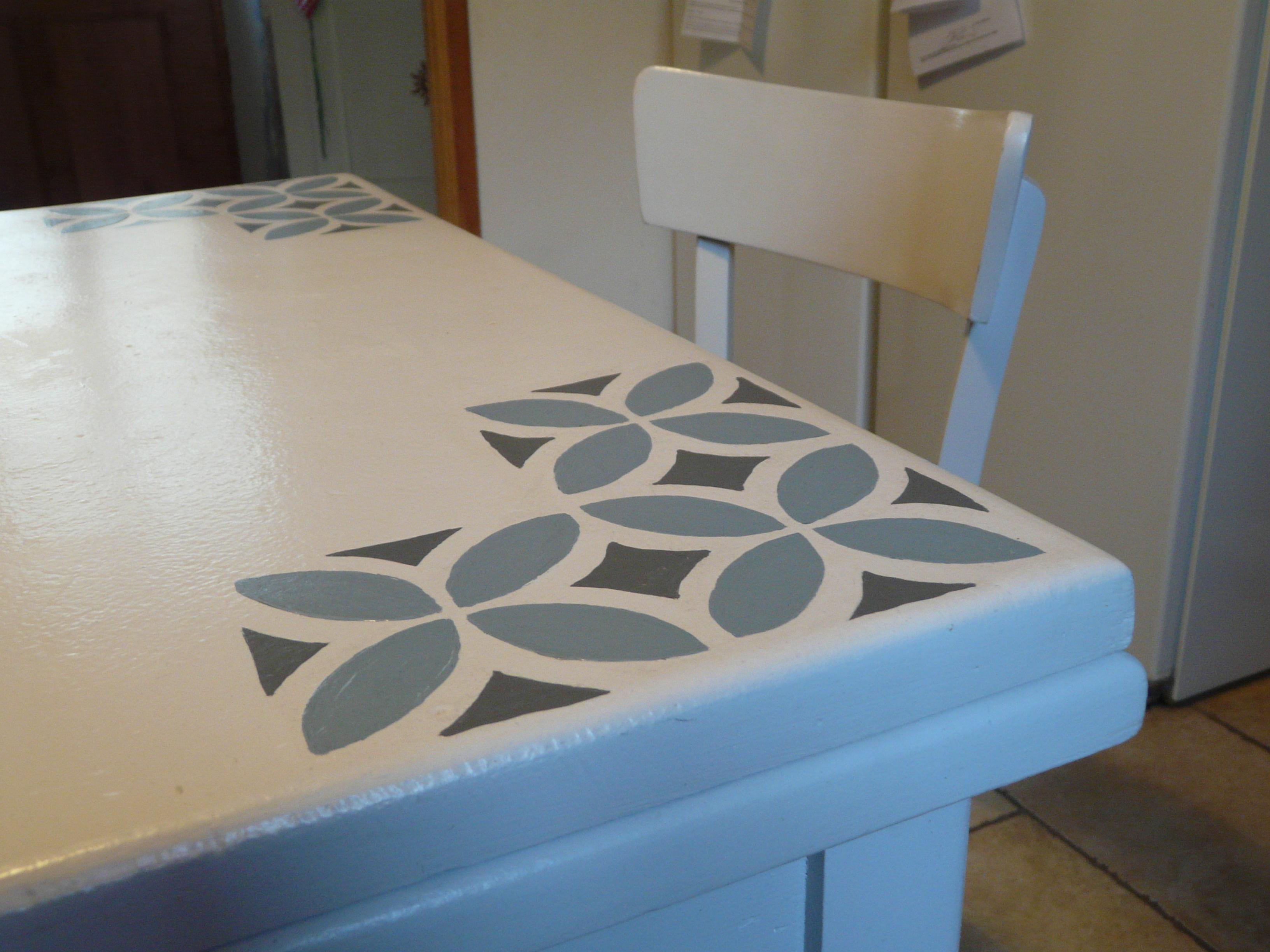 la table...après relooking