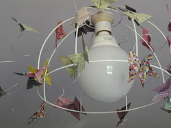 lustre papillons origami