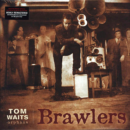 TOM WAITS 2xLP Brawlers (Remastered)