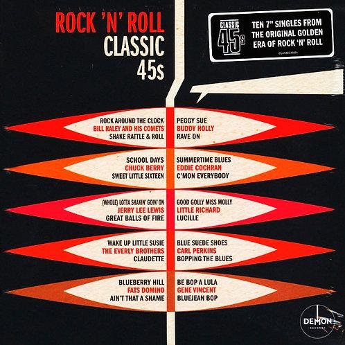 "VARIOS BOX SET 10x7"" Rock 'N' Roll Classic 45s"