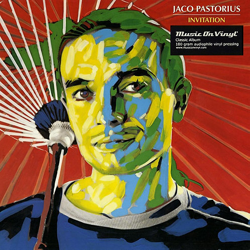 JACO PASTORIUS LP Invitation (180 gram audiophile vinyl)