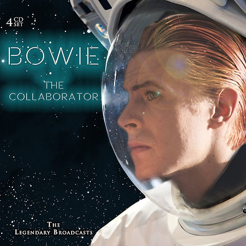 DAVID BOWIE 4XCD The Collaborator: The Legendary Broadcasts