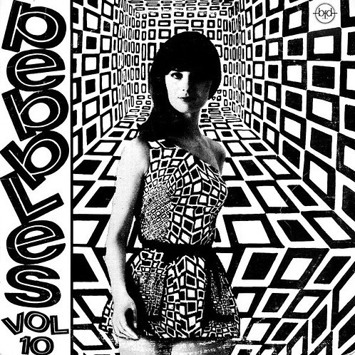 VARIOS LP Pebbles Volume 10 (Original Punk Rock From The Psychedelic Sixties!)