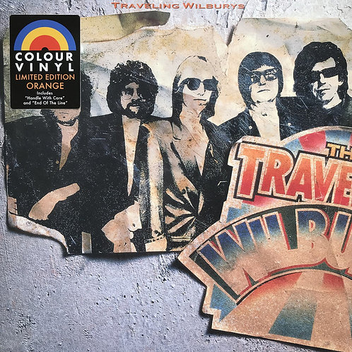 TRAVELING WILBURYS LP Volume One  (Orange Coloured Vinyl)