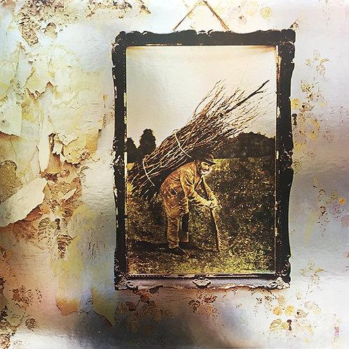 LED ZEPPELIN LP IV (Silver Mirror Cover Blue Coloured Vinyl)