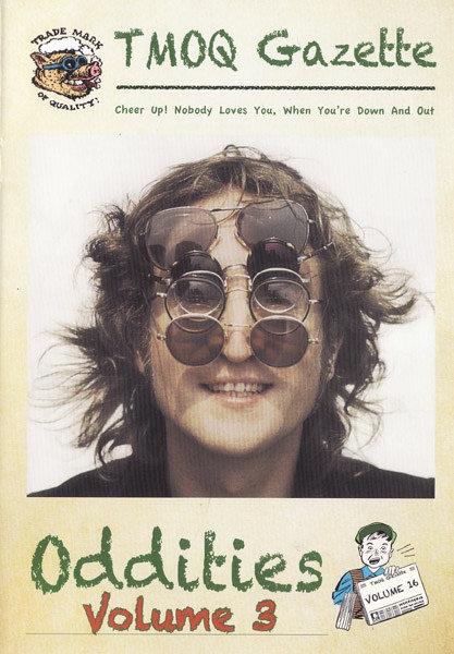 JOHN LENNON 2xCD+BOOK Oddities Volume 3