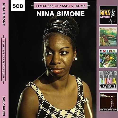 NINA SIMONE BOX SET 5xCD Timeless Classic Albums