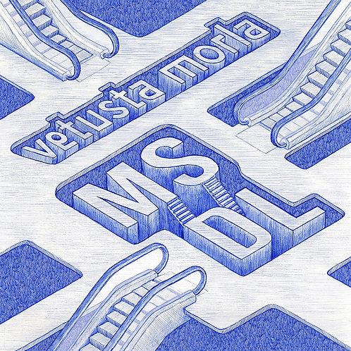VETUSTA MORLA LP+CD MSDL - Canciones Dentro de Canciones (Blue Coloured Vinyl)