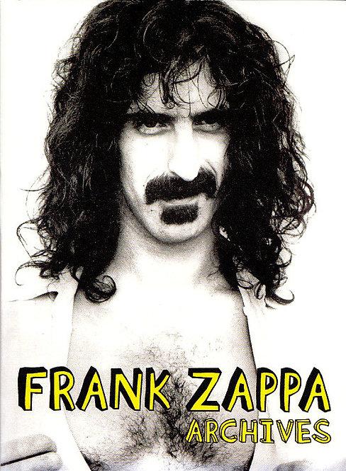 FRANK ZAPPA DVD Archives (Digipack)