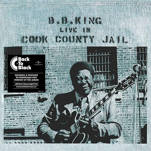 B.B. KING LP Live In Cook County Jail