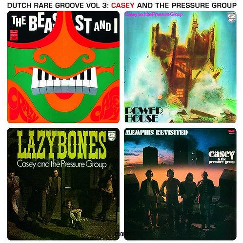 CASEY PRESSURE GROUP LP Dutch Rare Groove Vol 3