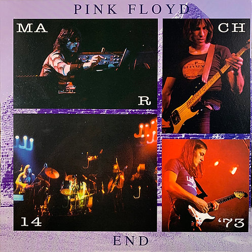 PINK FLOYD LP End Boston 1973 (Blue Coloured Vinyl)