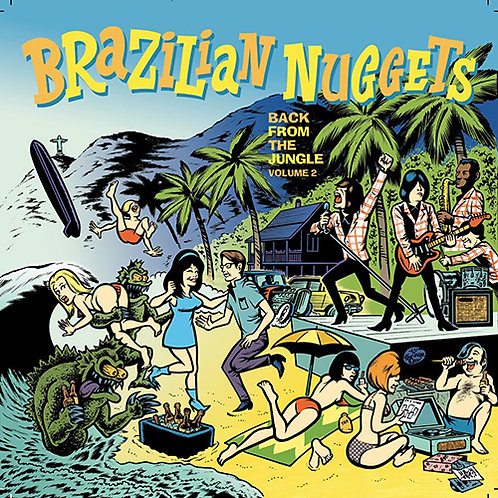 VARIOUS CD Brazilian Nuggets Volume 2 - Back From The Jungle