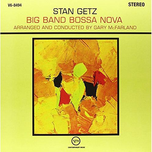 STAN GETZ LP Big Band Bossa Nova