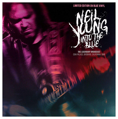 NEIL YOUNG LP Into The Blue (Blue Coloured Vinyl)