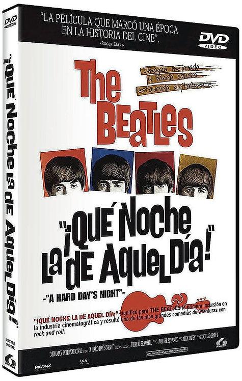 BEATLES 2xDVD Que Noche La De Aquel Dia (Edición Especial 2 Discos)