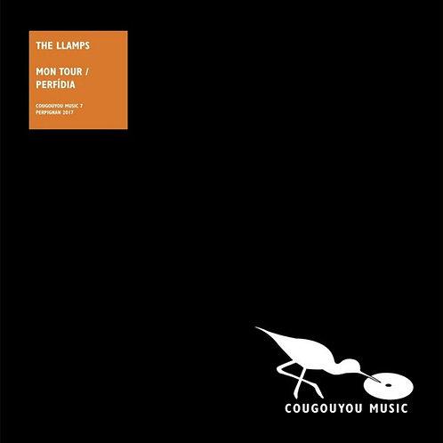 """THE LLAMPS 7"""" Mon Tour / Perfidia"""