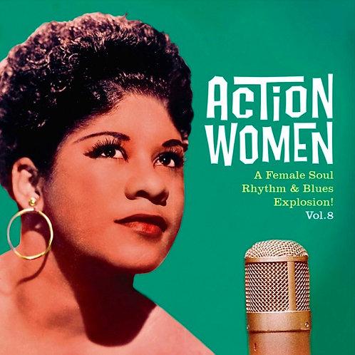 "VARIOS 7"" EP Action Women Vol 8 (A Female Soul Rhythm & Blues Explosion)"