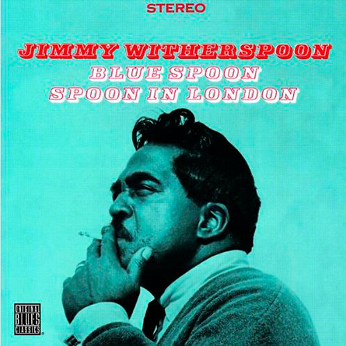 JIMMY WITHERSPOON CD Blue Spoon / In London