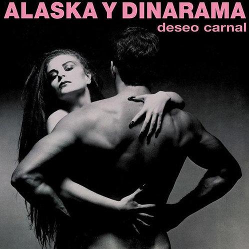 ALASKA Y DINARAMA LP+CD Deseo Carnal (Clear Coloured Vinyl)