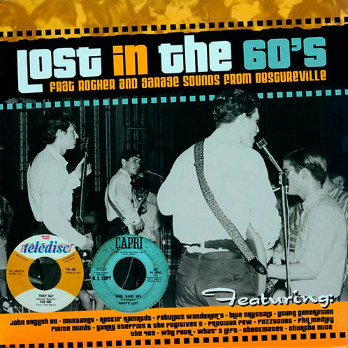 VARIOS LP Lost In The 60's (Frat Rocker And Garage Sounds From Obscureville)