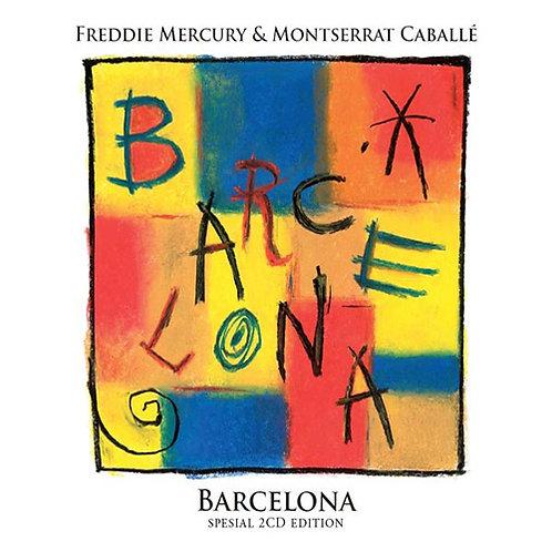 FREDDIE MERCURY 2XCD Barcelona (Special Edition)