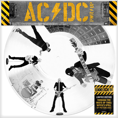AC/DC MAXI-LP Through The Mists of Time / Witch's Spell Picture Disc RSD 2021