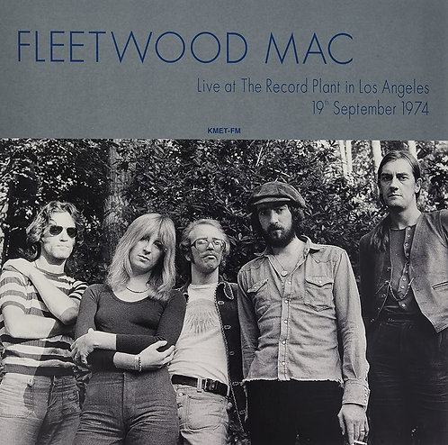 FLEETWOOD MAC LP Live At The Record Plant In Los Angeles 19th September 1974
