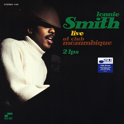 LONNIE SMITH 2XLP Live At Club Mozambique (Remastered)