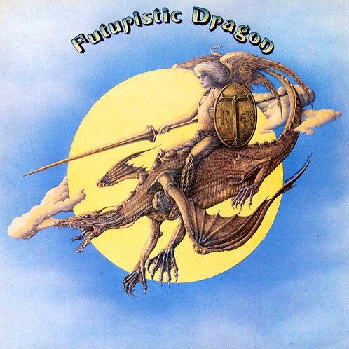 T. REX CD Futuristic Dragon + Bonus Tracks (Vinyl Replica)