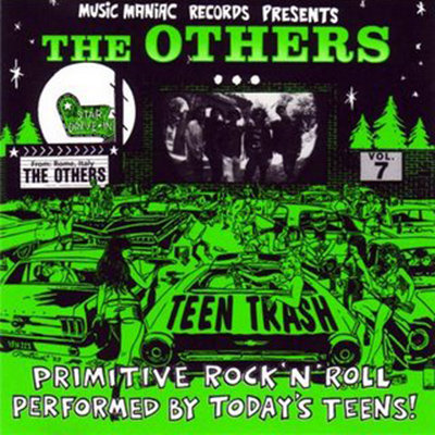THE OTHERS CD Teen Trash Volume 7 (Italy)