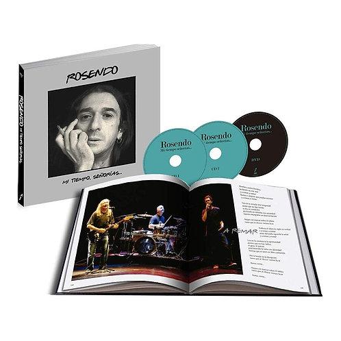 ROSENDO LIBRO+2xCD+DVD Mi tiempo señorías... (Edición Especial)