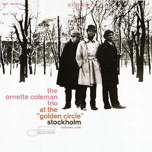 """ORNETTE COLEMAN CD At The """"Golden Circle"""" Stockholm - Volume One (RVG Remasters)"""