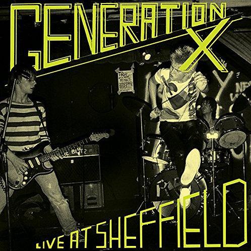 GENERATION X LP Live At Sheffield