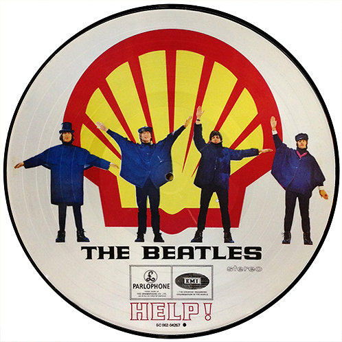 BEATLES LP Help! (Holland Shell Picture Disc)