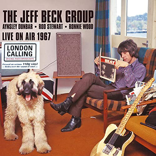 JEFF BECK GROUP LP Live On Air 1967