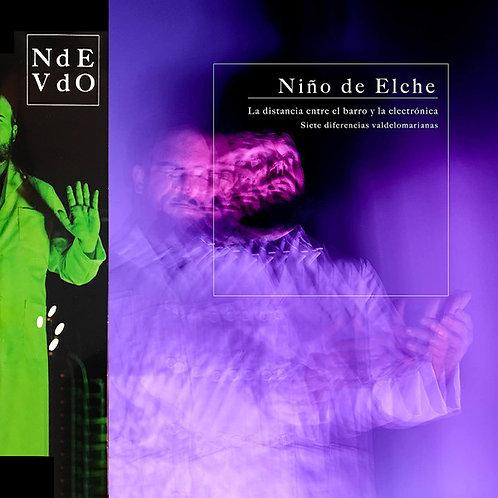 NIÑO DE ELCHE 2xLP La distancia entre el barro y la electrónica Limited Edition