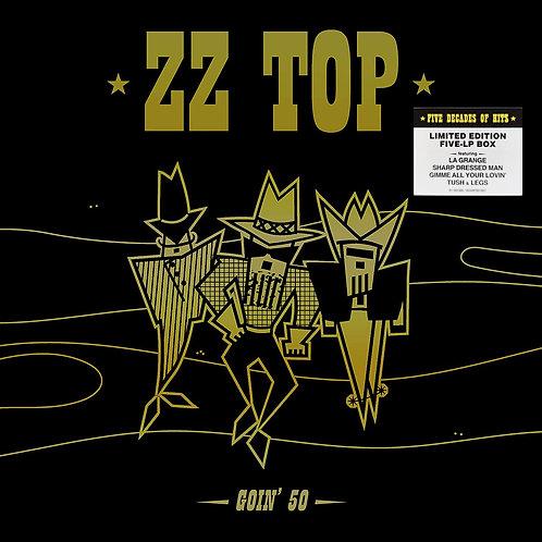 ZZ TOP BOX SET 5xLP Goin' 50