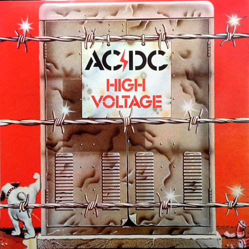 AC/DC LP High Voltage (Australian Edition)