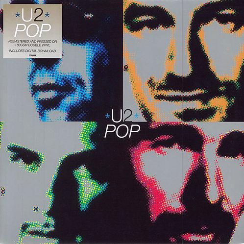U2 2xLP Pop (Remastered Double Vinyl)