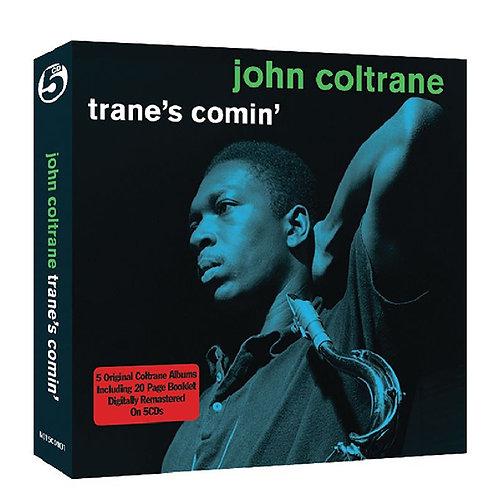 JOHN COLTRANE BOX SET 5xCD Trane's Comin'