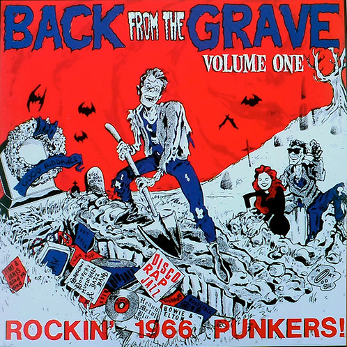VARIOS LP Back From The Grave Volume One Gatefold