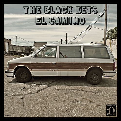 THE BLACK KEYS LP El Camino (Includes Giant Fold-Out Poster)