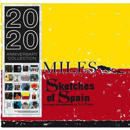 MILES DAVIS LP Sketches Of Spain (Blue Coloured Vinyl)