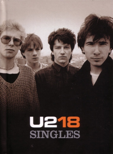 U2 BOX SET CD+DVD 18 Singles (Limited Deluxe Edition)