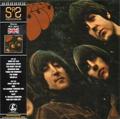BEATLES CD Rubber Soul (UK 1965 Vinyl Replica)