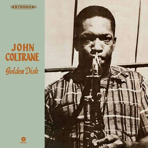 JOHN COLTRANE LP Golden Disk