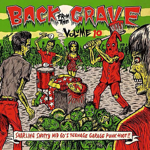 VARIOS LP Back From The Grave Volume 10 Gatefold